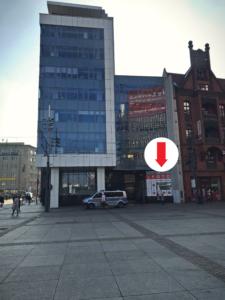 Fotograf FotoExpress w budynku Urzędu Miasta Katowice